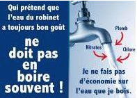 Cristaline condamn pour avoir critiqu la qualit de l - Qualite de l eau du robinet en france ...