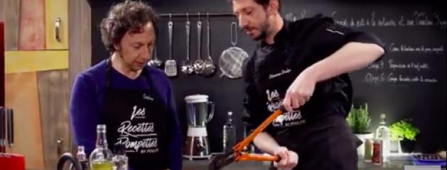 stéphane bern cuisine pompette pour une émission de cuisine