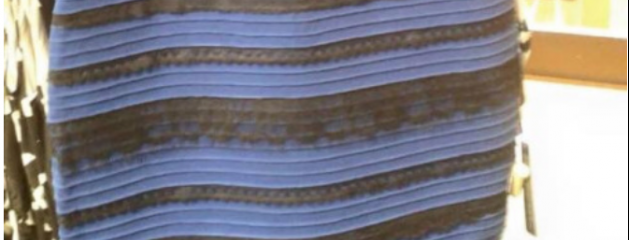 Robe que l'on voit de deux couleurs