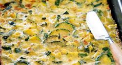 La recette du jour du nutritionniste Jean Michel Cohen: Tarte aux courgettes sans pâte