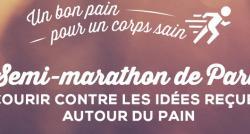 Semi-Marathon de Paris : une équipe 100% croustillante court contre les idées reçues autour du pain !