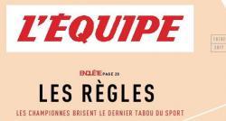 """Les menstruations des sportives en une de """"L'Equipe"""" : Clarisse Agbegnenou livre son témoignage -Regardez"""