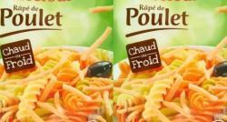 Carrefour et Auchan rappellent des lots de râpé de poulet susceptibles de contenir des listérias
