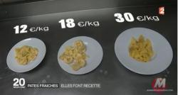 """La folie des pâtes fraîches gagne la France: Mais faut-il choisir la version industrielle ou """"faite maison"""" ?  Regardez le test"""